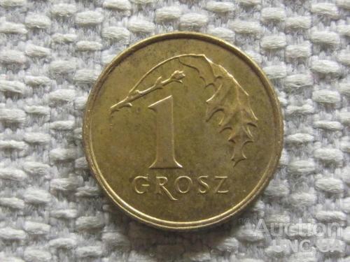 Польша 1 грош 2009 года #4514