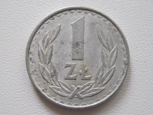 Польша 1 злотый 1984 года #14098