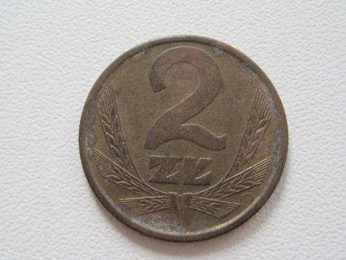 Польша 2 злотых 1984 года #13919