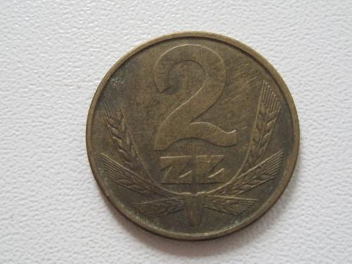 Польша 2 злотых 1985 года #13924