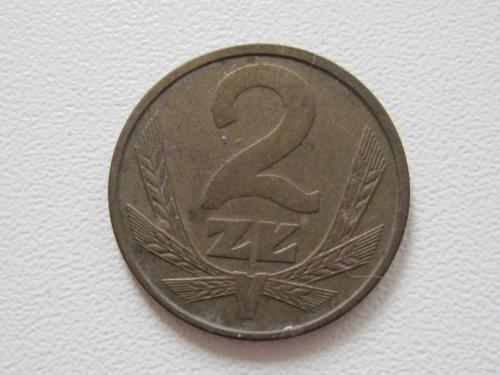 Польша 2 злотых 1985 года #13928