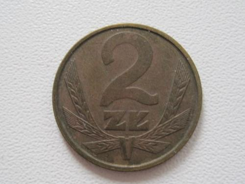 Польша 2 злотых 1985 года #13929