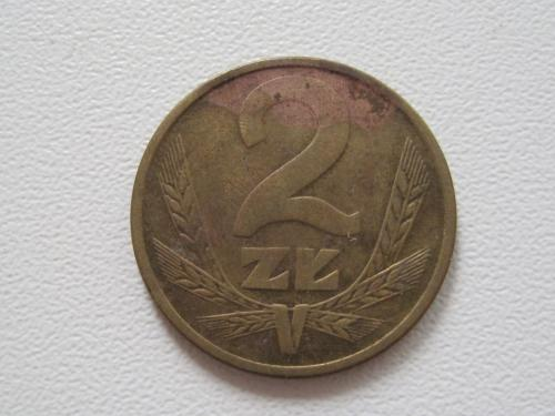 Польша 2 злотых 1985 года #13931