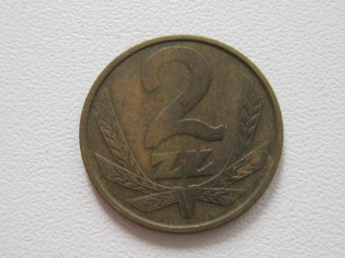 Польша 2 злотых 1985 года #13933