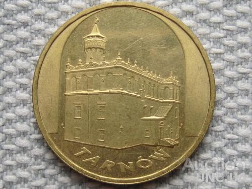 Польша, 2 злотых 2007 года /Древние города Польши - Тарнув/ #1206