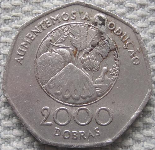 Сан-Томе и Принсипи 2000 добр 1997 года #10880