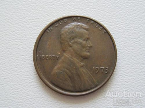 США 1 цент 1973 года #9554