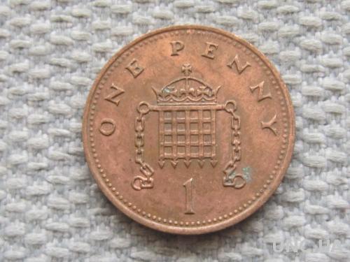 Великобритания 1 пенни 1987 года #5048