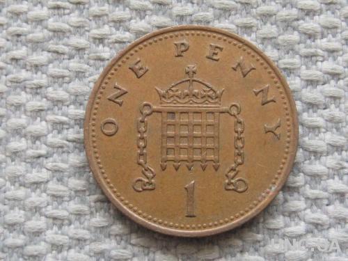 Великобритания 1 пенни 1988 года #5049