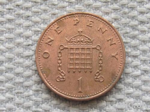 Великобритания 1 пенни 1988 года #5050