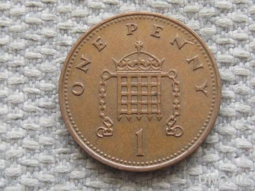 Великобритания 1 пенни 1988 года #5051