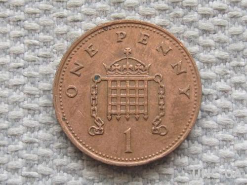 Великобритания 1 пенни 1988 года #5052