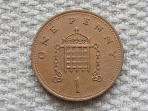 Великобритания 1 пенни 1988 года #5053