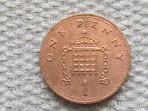 Великобритания 1 пенни 1989 года #5054