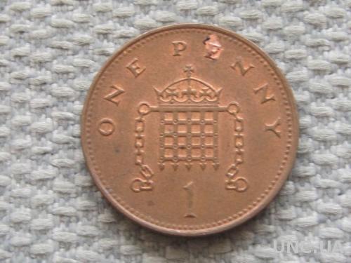 Великобритания 1 пенни 1997 года #5058