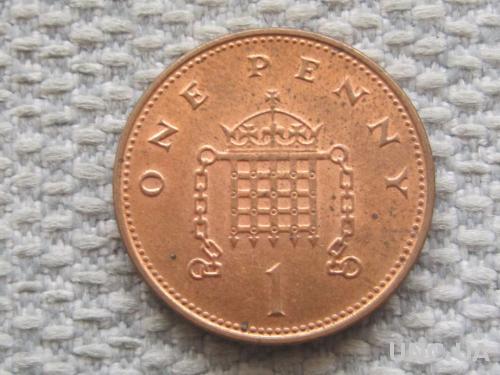 Великобритания 1 пенни 1998 года #5060