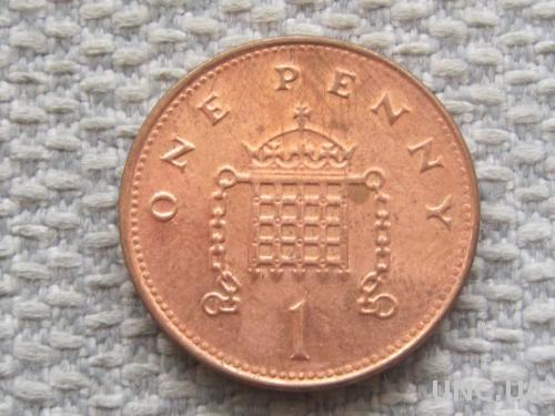 Великобритания 1 пенни 2000 года #5061
