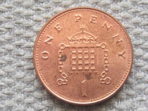 Великобритания 1 пенни 2000 года #5062