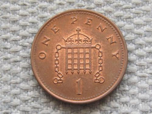 Великобритания 1 пенни 2001 года #5063