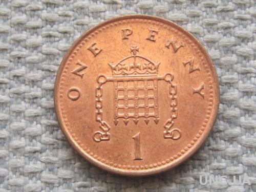 Великобритания 1 пенни 2001 года #5064