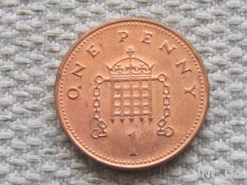 Великобритания 1 пенни 2002 года #5065
