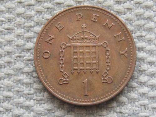 Великобритания 1 пенни 2002 года #5067
