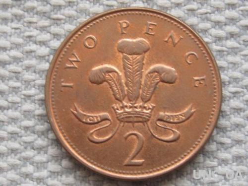 Великобритания 2 пенса 2000 года #5030