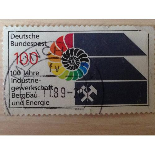 Марка. 100 jahre Industrie - gewerkschaft Bergbau und Energie. 1989.