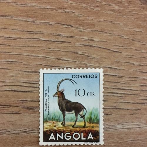 Марка. Ангола. Фауна