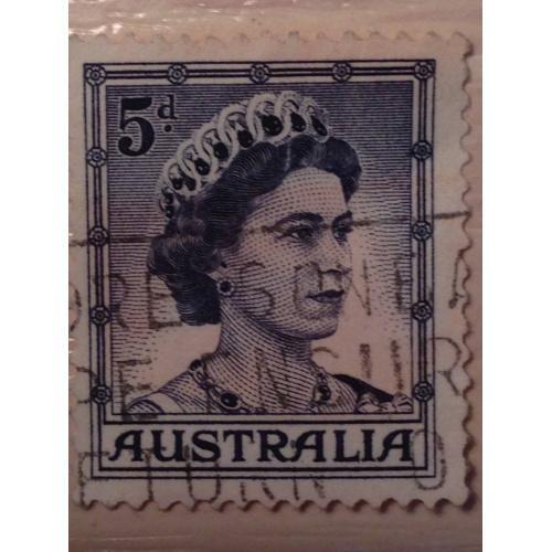 Марка. Австралия. 1959 г.
