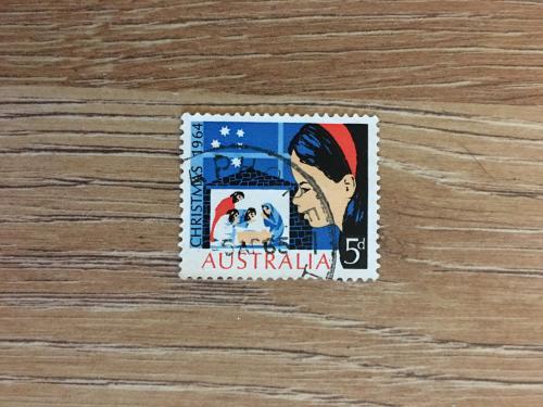 Марка. Австралия. Рождество
