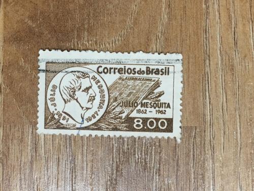 Марка. Бразилия. Júlio Mesquita