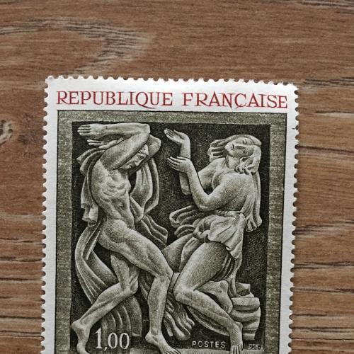 Марка. Франция. Скульптура