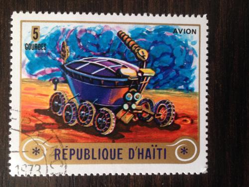 Марка. Гаити. 1973.