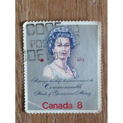 Марка. Канада. 1973.