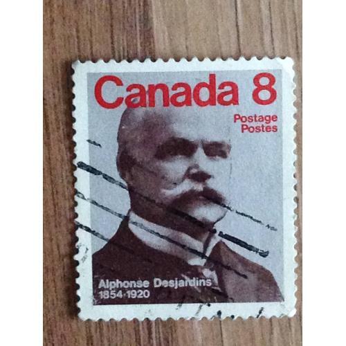 Марка. Канада. Alphonse Desjardins 1854-1920.