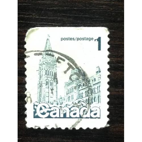 Марка. Канада. Архитектура.