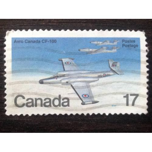 Марка. Канада. Avro Canada CF-100. ®