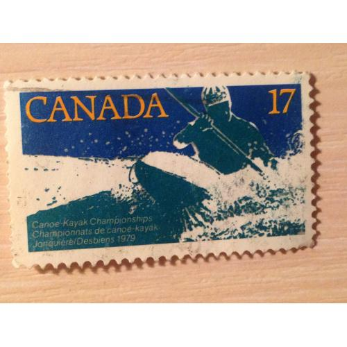 Марка. Канада. Canoe-Kayak Championships 1979.