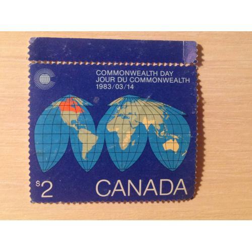 Марка. Канада. Commonwealth Day1983/03/14.