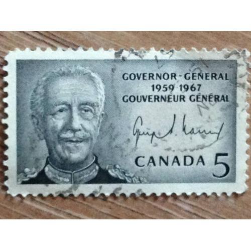 Марка. Канада. Governor - General. '