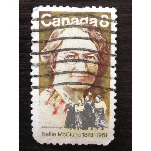 Марка. Канада. Nellie McClung 1873-1951. '