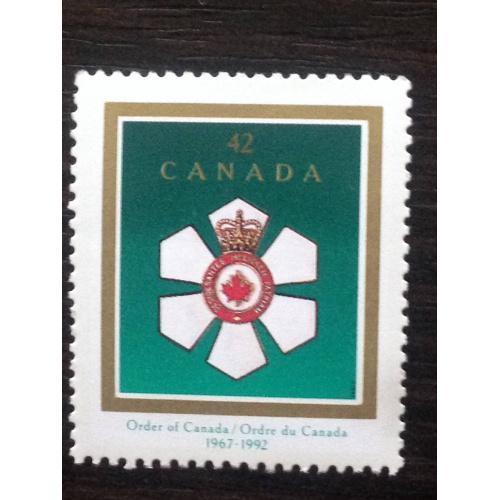 Марка. Канада. Order of Canada.  ®