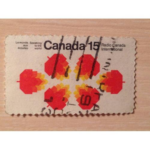 Марка. Канада. Radio Canada International.