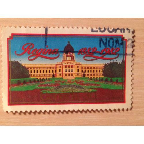 Марка. Канада. Regina 1882-1982.