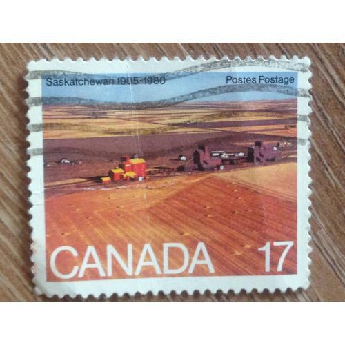 Марка. Канада. Saskatchewan 1905-1980. '