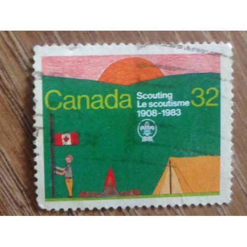 Марка. Канада. Scouting 1908-1983. '