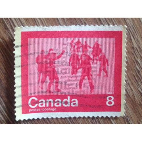 Марка. Канада.  '