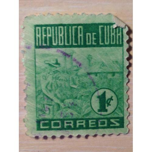 Маркa. Куба. 1 c.