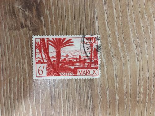 Марка. Марокко.